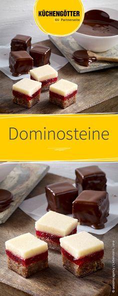 Rezept für Dominosteine zu Weihnachten