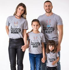 Easter Bunny, Easter shirts, Bunny mommy, Bunny daddy, Bunny Baby, Easter family, Easter t-shirts, Family easter shirts, Easter baby shirt