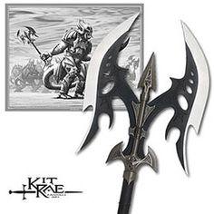 Kit Rae Legion Battle Axe - Black Blades