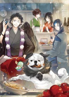 """I loved this anime """"Bed and Breakfast for the spurits"""" Anime Family, Satsuriku No Tenshi, Kawaii, Anime Artwork, Cute Anime Character, Manga Games, Character Illustration, My Animal, Bed And Breakfast"""