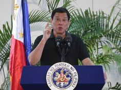 Beijing (AFP) - Beijing on Friday expressed support for a bloody crackdown on illegal drugs in the Philippines overseen by President Rodrigo Duterte, ahead of a visit to China by the controversial leader. President Of The Philippines, Rodrigo Duterte, Us Presidents, Barack Obama, Drugs, Product Launch, Words, International Airport, Doormat