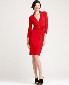 This is a pretty one from Ann Taylor, but it looks like they don't have my size anymore. :-/