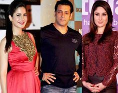 Bollywood superstar Salman Khan, his ex-girlfriend Katrina Kaif and Bollywood actress Kareena Kapoor have made it to the list of 'The Most Adimred Personalities' of India – female and male– respectively. One survey was led by an online statistical surveying entry by the name of Yougov.com based in London