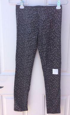 NWT Old Navy Girl's XL Size 14 Stretch Animal Print Full-Length Leggings Pants #OldNavy