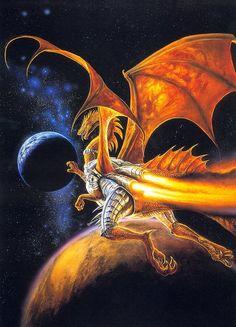 bob eggleton - astro dragon