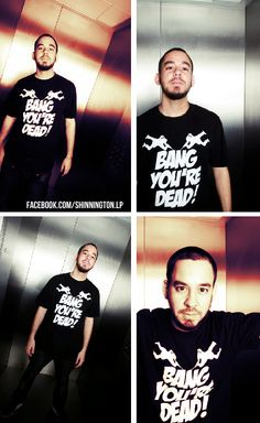 Mike Shinoda Linkin Park- it was in Bercy/paris in 2007 or 2008 don't remember...