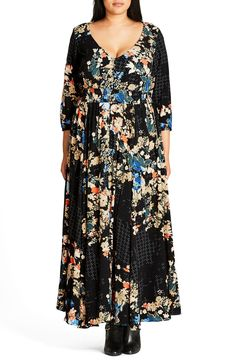 Shop City Chic Fresh Vibe Maxi Dress (plus Size) at Modalist