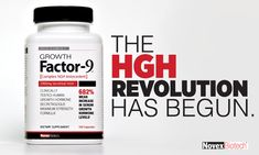 HGH Supplement Growth Factor 9 may increase natural levels of human growth hormone