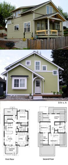 find this pin and more on dream home cottage plans small house - Little House Plans