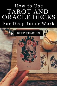 Oracle and tarot cards are rising in prevalence because they are powerful gateways to the inner Self and unconscious mind. Discover the best tarot cards and oracle cards for beginners who want to learn inner child work, self-love, and shadow work. #oraclecards #oraclespreads #tarotdecks #tarottips #tarotforbeginners
