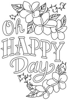 Warm Thoughts - Oh Happy Day | Urban Threads: Unique and Awesome Embroidery Designs