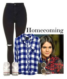 """Homecoming"" by sticthen ❤ liked on Polyvore featuring Topshop, Rails, Converse, Black Apple, Illesteva, Caputo & Co., Miss Selfridge, LiamPayne, fanfiction and bittersweet"