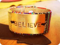BELIEVE  LoneCrow.Etsy.com  I have this one!!! Love it!