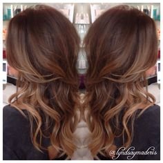 Balayage carmel hair painting and added volume with Great Lengths Hair Extensions @greatlengthsusa