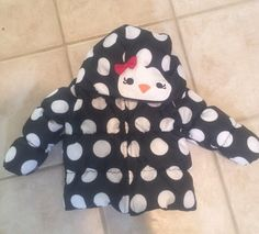 HTF Gymboree Winter Penguin 12 24 Months Winter puffer Coat EUC #Gymboree #Coat