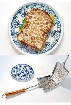An interesting toasty maker
