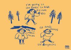 Anna Syvertsson — annavonsyfert: no nerds i slightly edited. Illustrations, Illustration Art, Pink Lila, The Villain, Mellow Yellow, Art Inspo, Just In Case, Cool Art, Nerd
