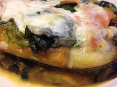 Deze voedselzandloper lasagne heeft een fantastische combi van smaken! Met pompoen, aubergine, spinazie, kwark, boerenkaas en Schotse gerookte zalm.