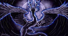 Dragon aura by Gewalgon