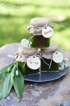 Schöner heiraten: Pesto als Gastgeschenk