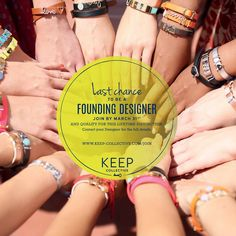 The title of Founding Designer is up for grabs – but only until the end of March. Sign up as a Designer today to officially become a Founding Designer with KEEP Collective: www.keep-collective.com/with/kellybryan