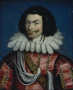 17th c Paul van Somer George Villiers, 1st Duke of Buckingham
