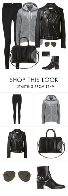"""""""Rehearsals"""" by yslpetal ❤ liked on Polyvore featuring Versace, A.P.C., Yves Saint Laurent and Givenchy"""