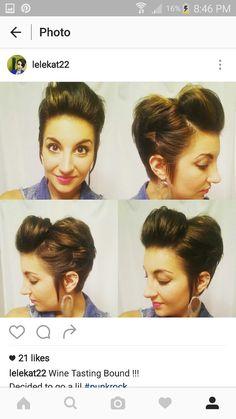 shorthair, asymmetrical, pixie cut, shorthair updo