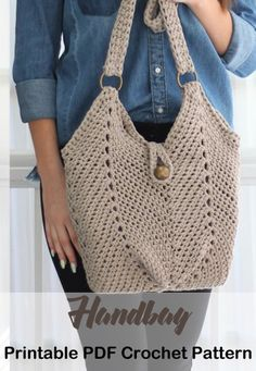 Bag Crochet Patterns – Make a Purse – A More Crafty Life – letricot Bag Crochet, Crochet Market Bag, Crochet Beach Bags, Crochet Handbags, Crochet Purses, Crochet Basics, Crochet Christmas Gifts, Crochet Shoulder Bags, How To Make Purses