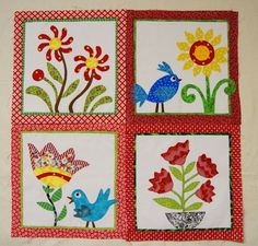 fun quilt blocks | whimsical and fun quilt blocks | Applique! How long is your…