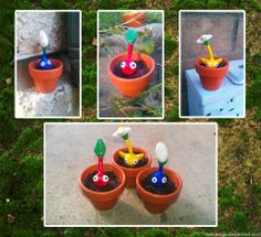potted pikmin by TheCuraga.deviantart.com on @deviantART