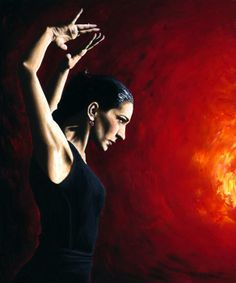 Flamenco dancer by Richard Young. Fine art America