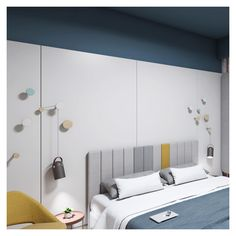 Motion is used as an ergonomics and efficiency tool; as a result, by making a few minor changes every time, this room can be adjusted to the number and the needs of its visitors. Interior Concept, Interior Design, Open Bathroom, Double Room, Interior Architecture, Number, City, Bed, Furniture