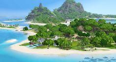 Has beautiful house and a beautiful beach