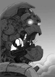 [ X23 ]  Illustration by Chris Lie (www.chrislie.deviantart.com)
