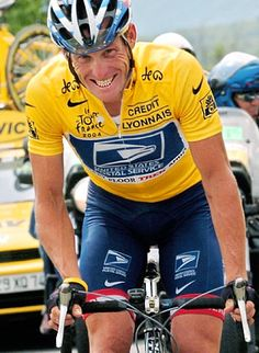Lance. He raised a lot of money for cancer research and I don't care what people think, I still like him.
