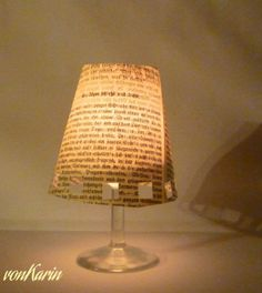 DIY vonKarin: Windlicht aus Weinglas