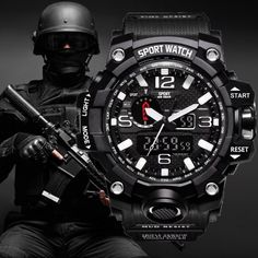 Army Watches, Sport Watches, Watches For Men, Mens Military Watches, G Shock Watches Mens, Gps Watches, Analog Watches, Casual Watches, Digital Sports Watch