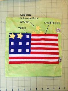 flag for quiet books