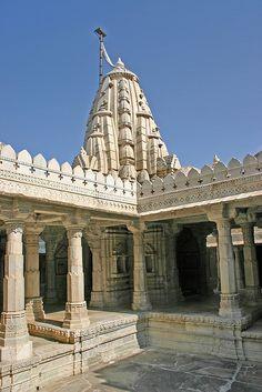 Jain Temples, Ranakpur, Mumbai, INDIA,  (by Mike Gadd, via Flickr)