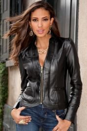 Boston ProperSeamed leather jacket