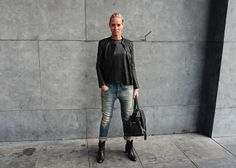 Rocking black & Jeans, post on my blog