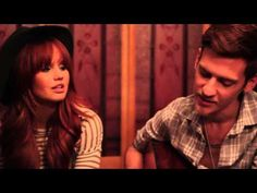 We Are Never Ever Getting Back Together: Ryan River Sessions cover by Debby Ryan and Nick Santino.....obsessed with both of them.