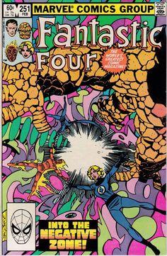 Fantastic Four #251 - February 1983 Issue - Marvel Comics - Grade NM