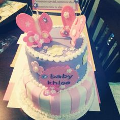 Butterfly theme baby shower