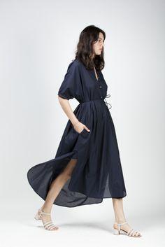 Maxi Shirt Dress - Christophe Lemaire