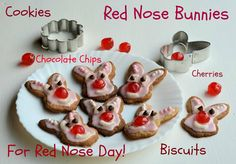 Red Nose Day: Do Something Funny for Money! Red Nose Bunnies (Biscuits/Cookies) Recipe Red Nose Day is nearly upon us - in about two weeks time, we will all be able to wear red noses to work, meet ...