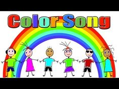 Colors Song - Color Song for Children - Kids Songs by The Learning Station- interactive Preschool Color Activities, Preschool Music, Preschool Learning, Learning Apps, Kindergarten Colors, Kindergarten Songs, Music For Kids, Kids Songs, Color Songs For Toddlers