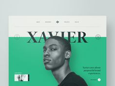 Xavier designed by Ben Schade. Connect with them on Dribbble; the global community for designers and creative professionals. Site Design, Ux Design, Graphic Design, Layout Design, Web Design Trends, Blue Website, Website Web, Profile Website, Pop Up Ads