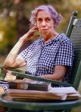 eudora+welty+house | Eudora Welty at her home in Jackson, Miss., in a photograph that was ...